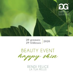 Beauty event happy skin