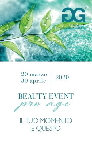 Invito evento antiage Proage