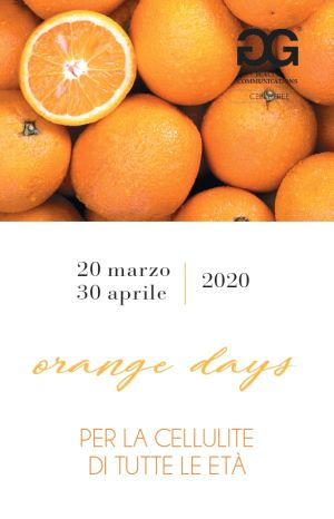 Invito evento anticellulite Orange